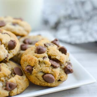 Paleo chocolate chip coconut cookies photo