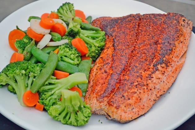 3-Ingredient Blackened Salmon Pic
