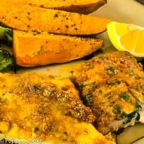 Baked Cod Filets