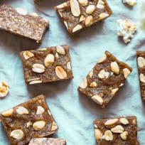 Caramel Apple Peanut Kettle Corn Bars Recipe