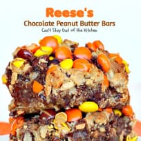 Reese's® Chocolate Peanut Butter Bars