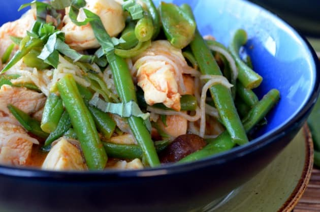 Red Curry and Beans