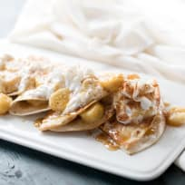 Bananas Foster Quesadilla Recipe