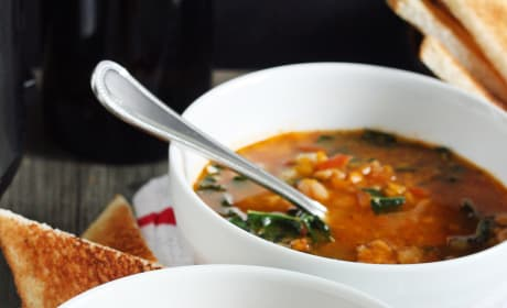Tomato and Cannellini Bean Soup Pic