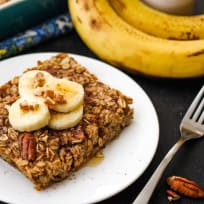 Toaster Oven Baked Oatmeal Recipe