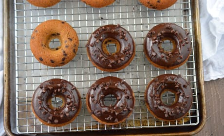 Gluten Free Chocolate Chip Donuts Image