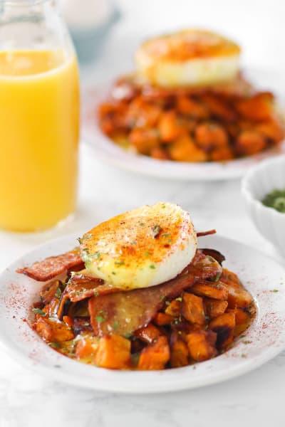 Sweet Potato Benedict Skillet Image