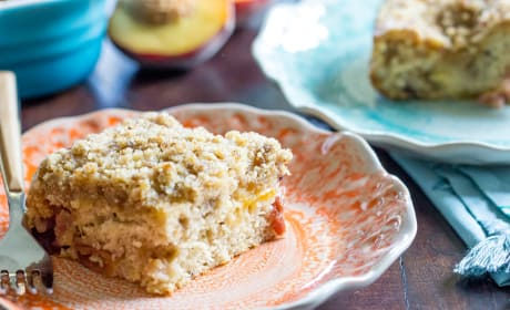 Peach Coffee Cake Photo