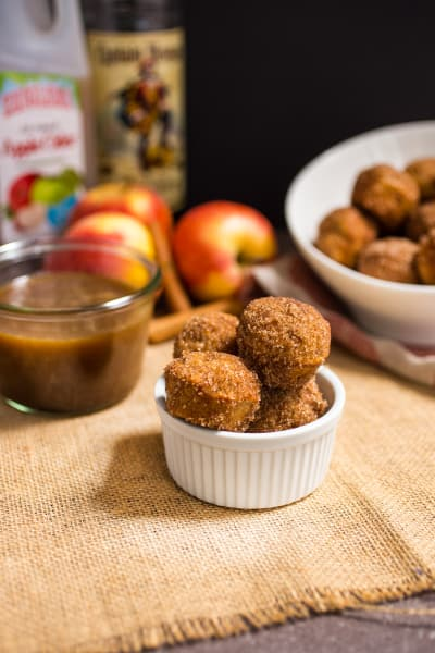 Apple Cider Donut Holes Picture