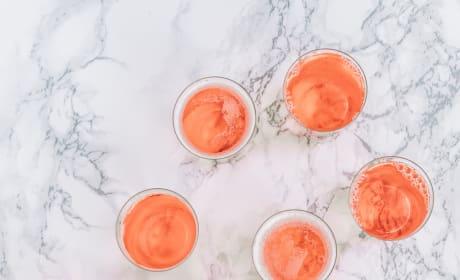 Easy Champagne Jello Shots Picture