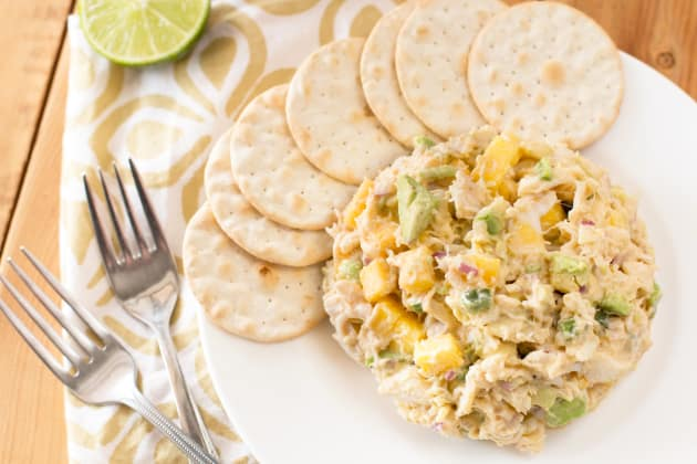 Avocado Crab Mango Salad Photo