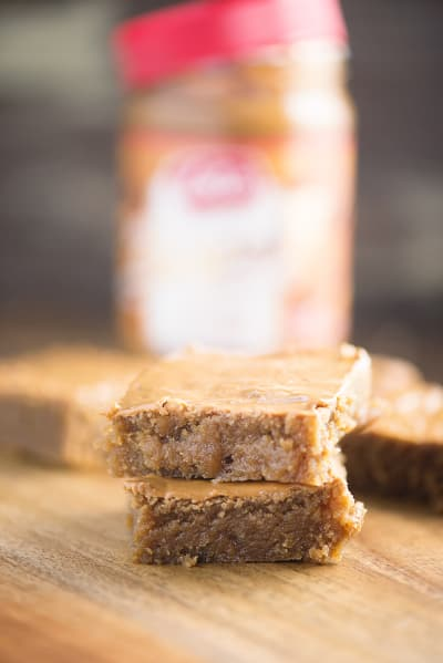 Biscoff Blondies Picture