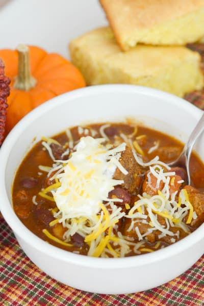 Slow Cooker Pumpkin Stew Picture