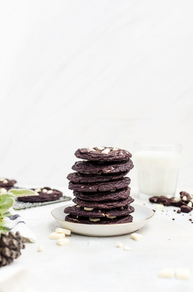 Peppermint Chocolate Cookies Image