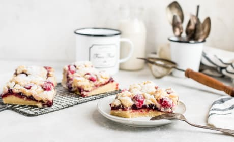 Raspberry Lemon Cookie Bars Recipe