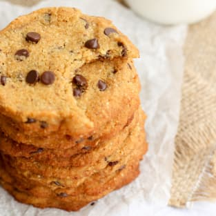 Coconut flour cookies photo