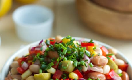 Easy Bean Salad Pic