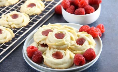 Raspberry Butter Cookies Recipe