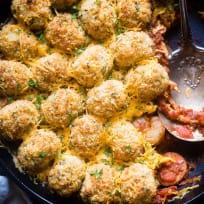Cajun Cauliflower Tot Casserole Recipe