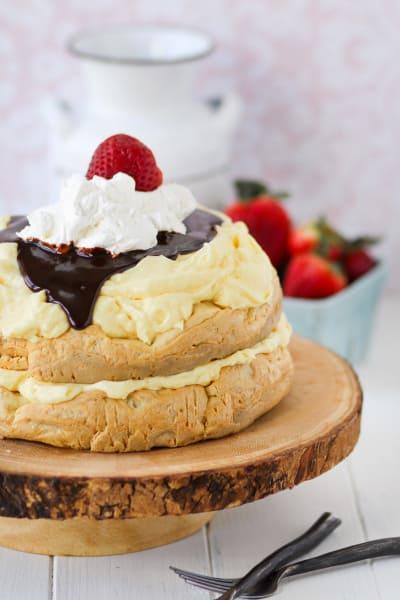 Cream Puff Cake Picture