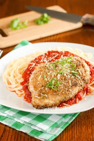 Gluten Free Chicken Parmesan Picture