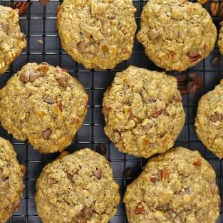 Gluten free chocolate chip pecan cookies photo