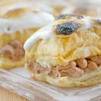 Toasted Marshmallow Napoleons Recipe