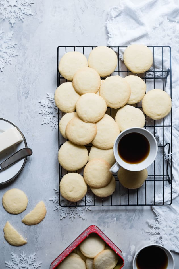 Low Carb Shortbread Cookies Picture