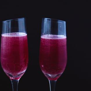 Cranberry aquavit cocktail photo