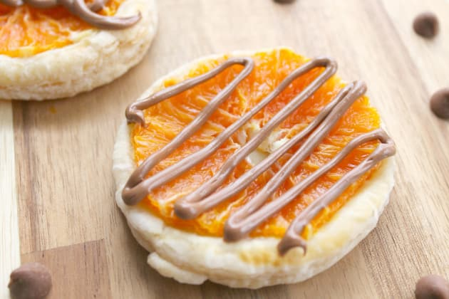 Chocolate Orange Tarts Photo
