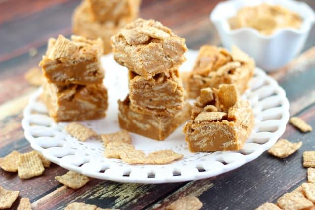 Peanut Butter Cinnamon Toast Crunch Fudge Recipe