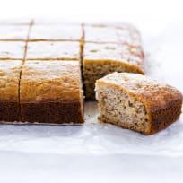 Gluten Free Banana Bread Bars Recipe