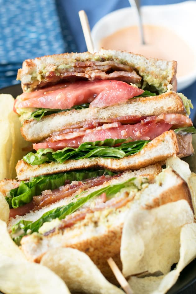 The Perfect BLAT with Spicy Candied Bacon Picture