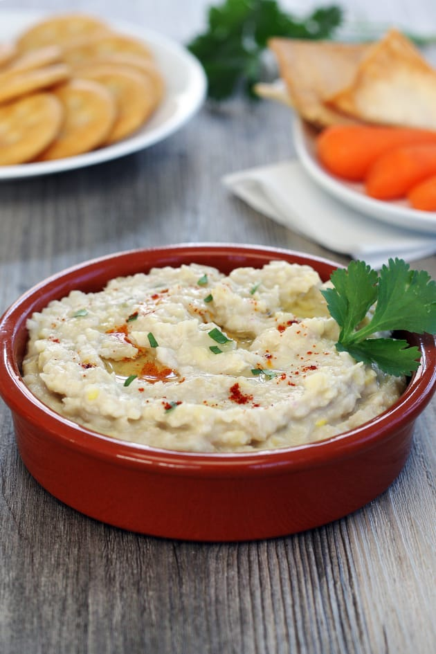 White Bean Jalapeño Artichoke Dip Picture