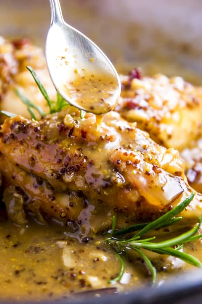 Honey Mustard Chicken with Bacon Picture