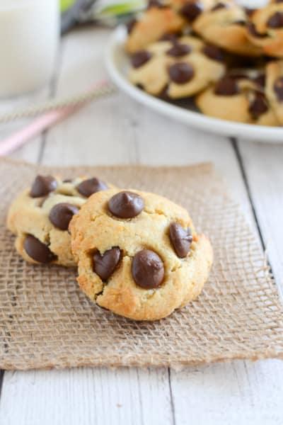 Paleo Chocolate Chip Cookies Image
