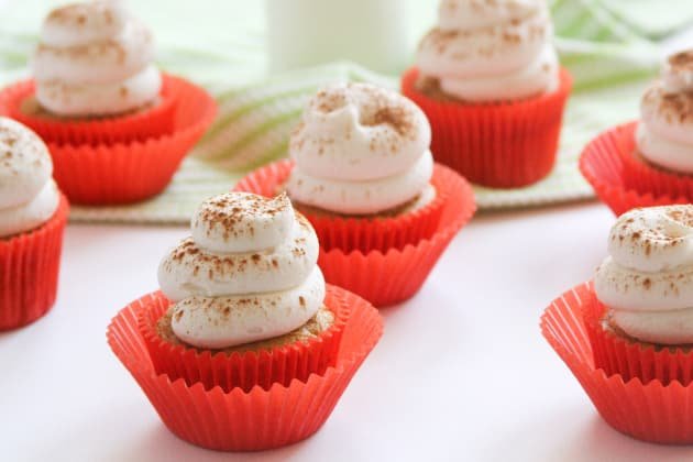 Pumpkin Cupcakes with Cream Cheese Frosting Photo