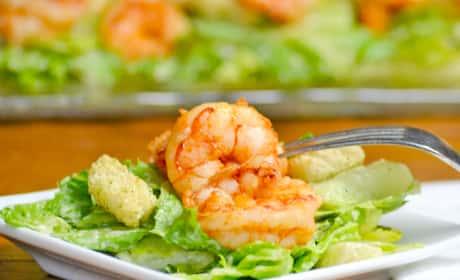 Spicy Shrimp Caesar Recipe