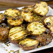 Garlic Rosemary Grilled Potatoes Recipe