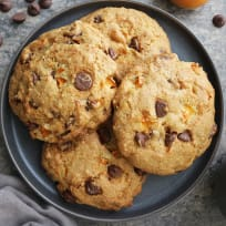 Chocolate Chip Muffin Tops with Apricots Recipe