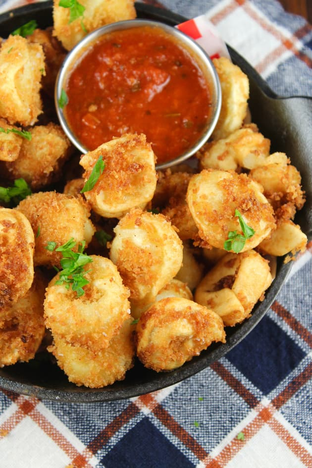 Fried Tortellini Picture