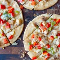 Chicken Fajita Flatbread Recipe