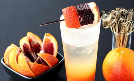 Blood Orange Gin Cooler Recipe