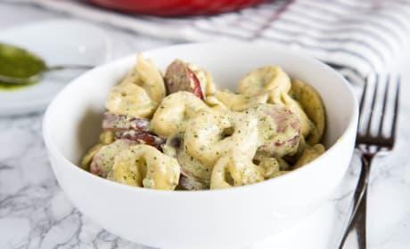 Creamy Pesto Tortellini Image