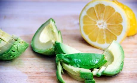 Sliced Avocado Photo