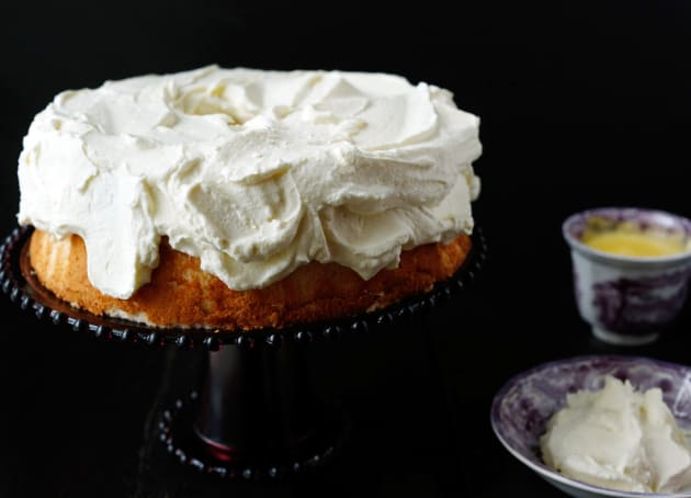 Pineapple Angel Food Cake Photo