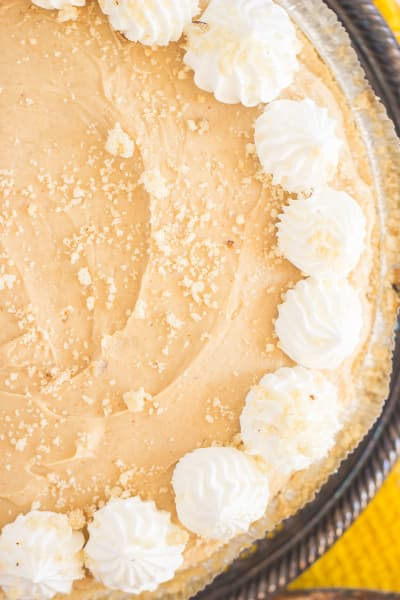 Banana Pudding Peanut Butter Pie Picture