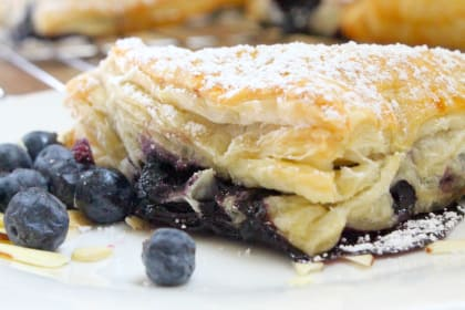 Blueberry Almond Turnovers