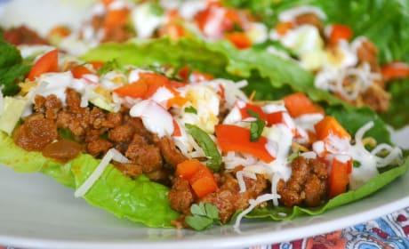 Taco Salad Boats Pic