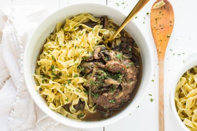 Slow Cooker Salisbury Steaks Recipe Photo